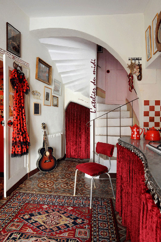 l'atelier du midi - chambres d'hotes, bed and breakfast - galerie